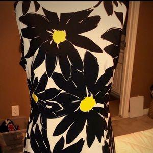 Floral Daisy Sheath Dress